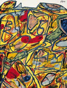 Jean Dubuffet. Lieu de promenade, 1975 ●彡