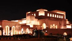 The Royal Opera House Muscat – Muscat, Oman (The opera house complex consists of a concert theatre, auditorium, formal landscaped gardens, cultural market with retail, luxury restaurants and an art centre for musical, theatrical and operatic productions. http://www.rohmuscat.org.om/