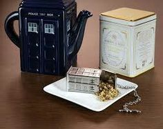 TARDIS tea  pot etc..