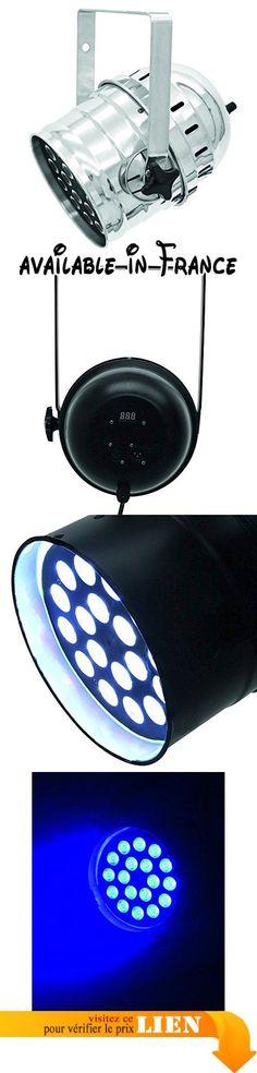 Eurolite 060427 Lumière LED PAR-64 QCL court 18 x 8 W Argenté. Endroit compact avec 18 x 8 W Quadcolor LEDs. Equipped avec 18 LED 4en1 dans les couleurs red, Green, Bleu et White. Functions DMX: statique colors. RGBW couleur blend. Internal via DMX #Musical Instruments #SOUND_AND_RECORDING_EQUIPMENT