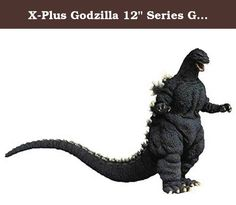 """X-Plus Godzilla 12"""" Series Godzilla vs. Biollante Action Figure. From X-Plus USA. Godzilla vs. Biollante is the second film in the new era of Godzilla films, released in 1989. In the film, Godzilla battles an enormous plant kaiju named Biollante, who was created by a scientist using cells from Godzilla himself! The story concept was found in a contest where the producers solicited ideas for the film from Japanese fans. Over 5,000 story ideas were submitted, and the winning entry that was..."""