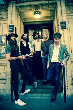 The Temperance Movement ~ This much grimy, sexy bearded goodness should be illegal. And wait until you hear them! Grimy and unfucking believable! And....wait for it....they are British too! Excuse me while I swoon!