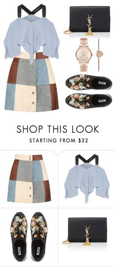 """Untitled #3"" by trsca on Polyvore featuring Boohoo, Roland Mouret, Dune, Yves Saint Laurent and Michael Kors"