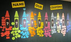 Crayon display     Thanks to Samantha Carpenter, the new youth services assistant at L.E. Phillips Memorial Public Library for this cool a...