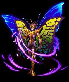Myu de Papillon by Nail Art Papillon, Perro Papillon, Asgard, Hades And Persephone, Japanese Film, Manga Games, Manga Drawing, Exotic Pets, Dragon Ball Z