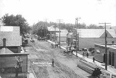 Rosemount street scene.