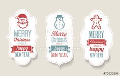 Christmas Labels - Decorations