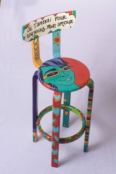 Painted Chair Decoration Paint Furniture Furniture