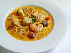 Cod, Shrimp & Fennel Chowder