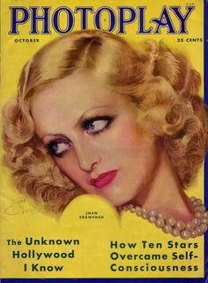 Photoplay- Joan Crawford - October 1931                                                Image Source