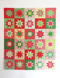 No Point Stars, A FREE pattern in 5 sizes
