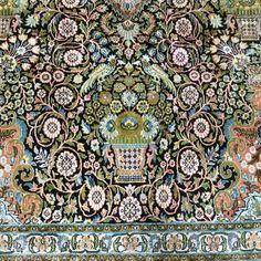 Catawiki Online-Auktionshaus: Ghom-Seide, Kaschmir, 429 x 311 cm City Photo, Persian Carpet, Cashmere, Auction, Patterns
