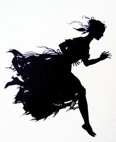 The Mad Dash Home. Silhouette by Arthur Rackham. Arthur Rackham, Kara Walker, Art Japonais, Shadow Puppets, Children's Book Illustration, Book Illustrations, American Artists, Black Art, Illustrators