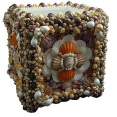Large and Impressive Sea Shell Planter – Pair Available