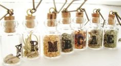 Herb #necklaces, a spicy #accessory - http://www.finedininglovers.com/blog/curious-bites/herb-necklaces-a-spicy-accessory/