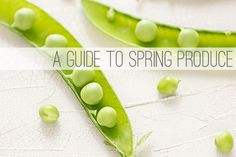 A Guide to Spring Produce - seriously awesome post with information about how to pick and prepare the best produce of the season. | Oh My Veggies