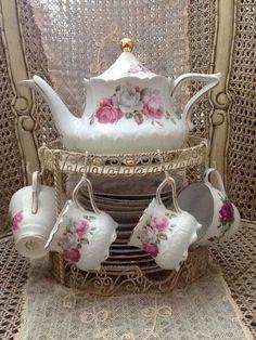 Porselen Çay Seti