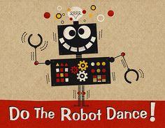 Robot Dance - Drawing Dreams   Steve Mack
