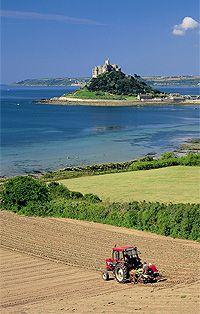 St Michael's Mount. Cornwall