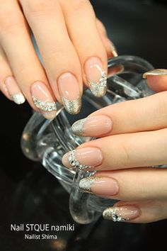 Crystal French Nailの画像 | 広島のネイルサロンNailSTQUE ShimaのBlog