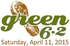 green 6.2 run in Houston CityCentre - April 11, 2015 -10K