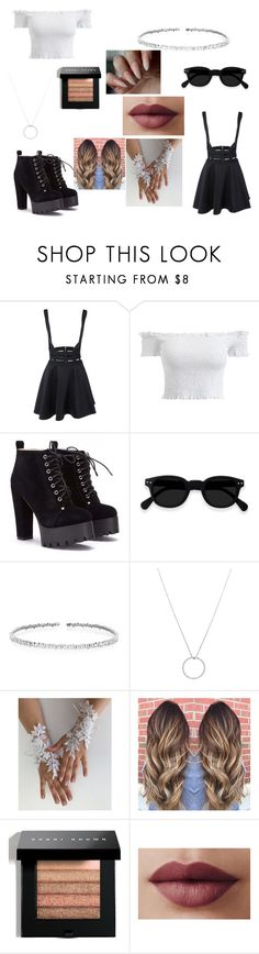 """Black n' White"" by zecelina on Polyvore featuring Suzanne Kalan, Roberto Coin and Bobbi Brown Cosmetics"