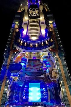 This is not a photo from a helicopter. This is a photo from the sky-high soaring North Star on Anthem of the Seas.