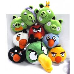 Deal Of The Week- Angry Birds 10 Plush Dolls Now Only $16.99! Limited to the first 100 orders and Ends November 5! Get them quick at this amazing low price... perfect gifts for Christmas!    Follow the link below to see the Angrybird's Family Pack.  http://www.bloomsoutlet.com/plush-dolls/460-doll0110.html