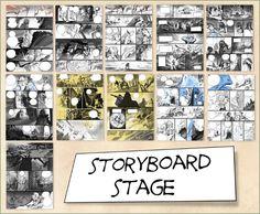 Visual Storyboards | 119 Best Art Storyboards Visual Development Graphic Novel Layout