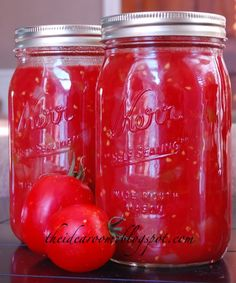 Bottling Tomatoes -