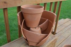 DIY tiered broken pot guide