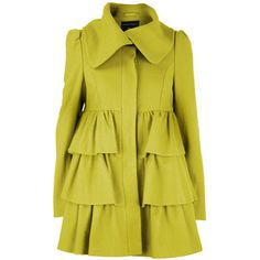 Super cute coat but i hate the colour . maybe a turquoise.