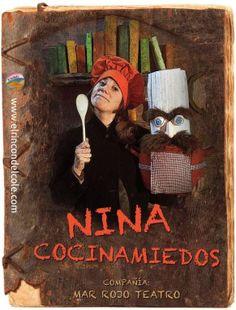 Teatro familiar. Nina Cocinamiedos de Mar Rojo Teatro.