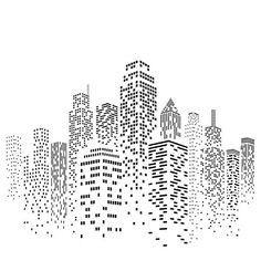 Skyscraper Stencil - 47 x (M) - Reusable Cityscape Skyline City Buildings Wall Stencil Template - Use on Paper Projects Scrapbook Journal Walls Floor Fabric Furniture Glass Wood etc. Wallpaper Stencil, Stencil Art, Stencils, Building Drawing, Building Sketch, Cityscape Drawing, Scrapbook Journal, Urban Sketching, Line Drawing
