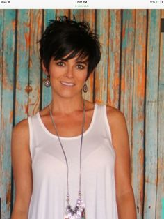 "Cute short haircut [   ""Cute  