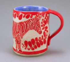 sgraffito ceramic cups - Google Search