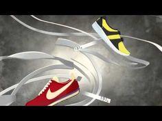 The Story Behind Nike Flyknit Technology. Nike Flyknit, Design Process, Motion Graphics, Technology, Streetwear, Kicks, Advertising, Animation, Running