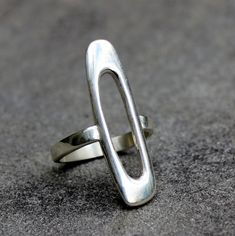 Sterling Silver Ring moderne Sterling Silver Ring door lsueszabo