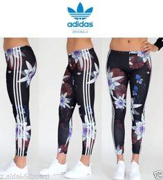 ADIDAS-Originals-LOTUS-legging-imprime-taille-uk-6-14-nouveaux-id-ac2132-303