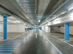 Tissot Arena--inspiration for parking in collective housing block in Valdebebas by SI architects
