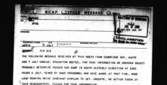 (adsbygoogle = window.adsbygoogle || []).push();    Ya era un verano húmedo, y el 8 de julio de 1947, las cosas sólo habían conseguido ponerse más calientes en el suroeste de Estados Unidos. Walter Haut, oficial de relaciones públicas del Ejército del Aire, situado cerca de...
