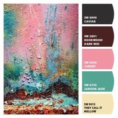 ColorSnap by Sherwin-Williams. Card by Reni Apostolova.
