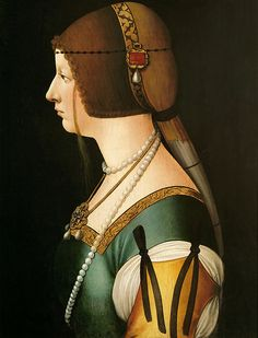 Ambrogio de Predis - Bianca Maria Sforza | por Faces of Ancient Europe