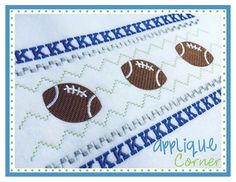 Faux Smocked K Embroidery Design