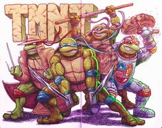 TMNT by Buster Moody