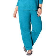 Just My Size Women's Plus-Size Fleece Sweatpant, Size: 5XL, Blue