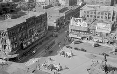Old Montreal, Montreal Ville, Canada, Urban, Top View, Vintage Photography, Old Pictures, Rooftop, Vintage Photos