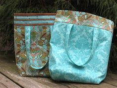 Free Bag Pattern and Tutorial - Esther's Tote Bag