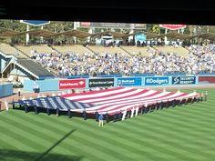 Memorial Day 2014 at Dodger Stadium...Amazing!!