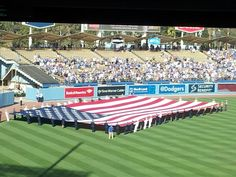 Memorial Day 2014 at Dodger Stadium...Amazing!!
